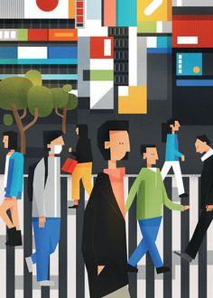 Plakaty > Kolor Czarno-biały/Czarny - wall-being Tokyo, Art, Art Background, Tokyo Japan, Kunst, Performing Arts, Art Education Resources, Artworks