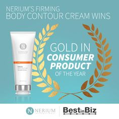 Nerium Firm Gold Winner in Consumer Products - http://onlinesales.neriumproducts.com