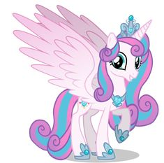 Princess Flurry heart as adult by GihhBloonde on DeviantArt My Little Pony List, My Little Pony Princess, My Little Pony Pictures, Little Pony Party, My Little Pony Friendship, Dessin My Little Pony, My Little Pony Drawing, Rainbow Dash, Flurry Heart
