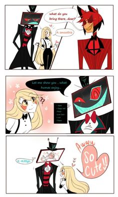 Read 1 from the story imágenes de charlastor Terminado by (🌹Neko Chan 🌹) with reads. Witchy Wallpaper, Monster Hotel, Alastor Hazbin Hotel, H Hotel, Hotel Trivago, Vivziepop Hazbin Hotel, Animation, Drawing Reference Poses, Cute Love
