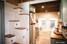 The Molly Gooseneck Tiny House: 340 Sq. Ft. Tiny Home on Wheels!
