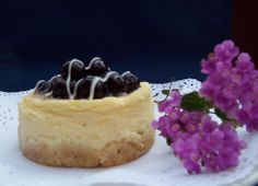 Blueberry baked cheese cake!