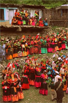 Asia: The Kalash, The White Tribe of Pakistan, celebrate the pagan Joshi spring festival, Chitral, Pakistan Pakistan Zindabad, Pakistan Travel, Kalash People, Nepal, Hindu Kush, Pakistani Culture, Indus Valley Civilization, Anthropologie, Spring Festival