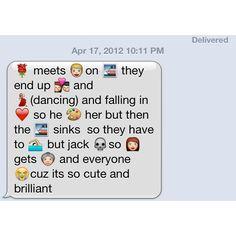 This is my boyfriends Interpretation of Titanic the movie!