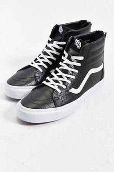 Vans California Sk8 Leather Zip High-Top Mens Sneaker - Urban Outfitters  High Top Vans 6d8a2a0c59