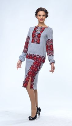#Ukrainian #embroidery #dress #Украинская #вышивка #Вышиванка #Українська #вишивка #Вишиванка #knitting #knitwear Knitwear Fashion, Ethnic Fashion, Womens Fashion, Ethno Style, Embroidery Fashion, Blouse Designs, Boho Chic, Style Inspiration, Palestine