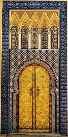 14th Century King\'s Palace, Fez Medina,Morocco