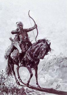 Crimean Tatar cavalry archer