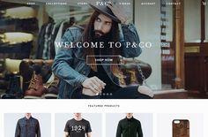 P&Co | Web Design File