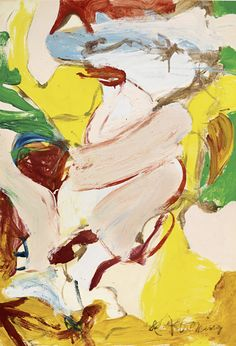 Willem de Kooning, WOMAN LANDSCAPE XII on ArtStack #willem-de-kooning #art