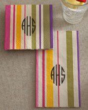 Striped Napkins...love em