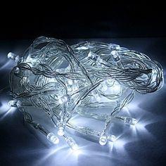 100 LED Waterproof Battery Powered Fairy String Lights White KooPower Koopower http://www.amazon.co.uk/dp/B00O1RXHYO/ref=cm_sw_r_pi_dp_ikYkvb1AFWG6C