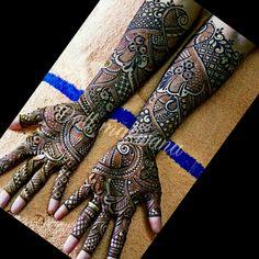 Indianlook Mehndi Desighn, Mehndi Design Pictures, Bridal Mehndi Designs, Picture Design, Hand Henna, Hand Tattoos
