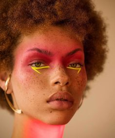 Carissa Pinkston photographed by Matthew Priestley with makeup by Tiffany Patton for models.com