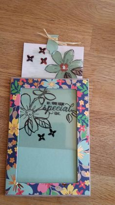 Stampin up, Garden in Bloom  Magische Karte
