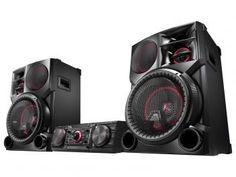Mini System LG 2700W RMS MP3 Karaokê - Multi Bluetooth Dual USB Wireless CM9760