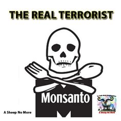 Monsanto ~ the real terrorist of the USA ! they should be tried for crimes against humanity.!!!