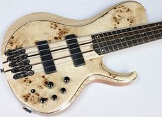 Ibanez BTB845SC 5-String Electric Bass Guitar Low Gloss Natural NEW! #40603