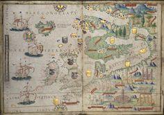 De Portolaanse kaarten van 1519