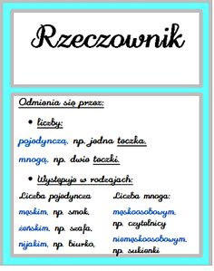 Polish Language, Fun Learning, Hand Lettering, Back To School, Literature, Homeschool, Study, Math Equations, How To Plan