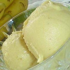 Incroyable sorbet à la banane @ allrecipes.fr