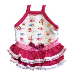 Guinea Pig Dress (Red Comical Bears P), $16.50