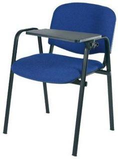 szék mozgatható jegyzetelő-asztallal
