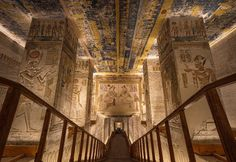 Tomb of Ramses VI, Valley of the Kings in Luxor, Egypt. Ancient Ruins, Ancient Egyptian Tombs, Ancient Egypt History, Ancient Tomb, Egyptian Art, Egyptian Actress, Egyptian Mythology, Places In Egypt, Egypt Museum
