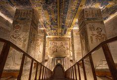 Egito. Imagens proibidas do interior das tumbas de Vale dos Reis – Observador