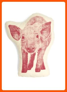 Areaware Pig Pillow Doll - Lovley creatures (*Amazon Partner-Link)
