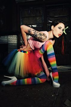 Nothing like being an adult and desperately wanting a rainbow tutu.