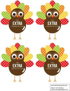 Looking for an inexpensive Thanksgiving Day gift idea for friends, neighbors or teachers? Attach one of these turkey tags to a pack of Extra gum and gift! Thanksgiving Teacher Gifts, Halloween Teacher Gifts, Thanksgiving Favors, Thanksgiving Turkey, Fall Teacher Gifts, Thanksgiving Prayer, Teacher Treats, Teacher Appreciation Gifts, Employee Appreciation