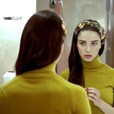 Cherry Season, Fox Tv, Turkish Beauty, Turkish Actors, My Sunshine, High Neck Dress, Actresses, Seasons, Hair