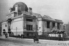 Secession House - early photo