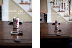 <Crop Sensor vs. Full Frame> Canon 60D vs Canon 5D Mark II Full Frame Vs Crop, Camera Photography, Photography Tips, Canon 60d, Cameras, Camera, Photo Tips, Film Camera