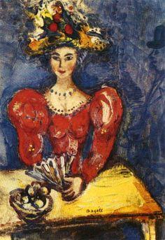 Марк Шагал. В кафе