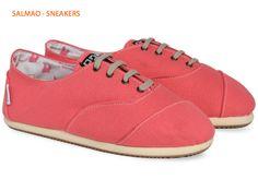 Sneakers salmón