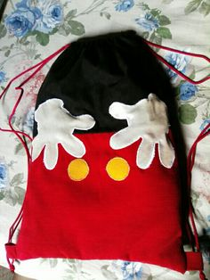 Sacchetto asilo Micky Mouse