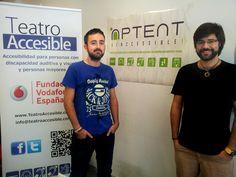 Diego y Javier, nuestros co-fundadores.