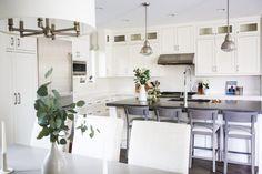 Dining Room Kitchen Open Concept Plan | Bria Hammel Interiors