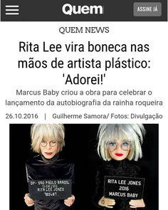 BONECOS DO BABY: O sucesso da nova boneca da Rita Lee de Marcus Bab...
