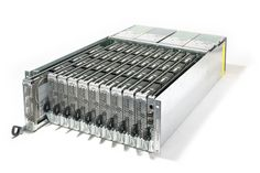 HP T-Class high density storage solution, stores up to in a full rack. Maximum of 40 drives per enclosure. All connected up to an 8 Gbs fibre channel. Data Center Rack, Server Room, Storage Solutions, Porn, Channel, Lab, Design, Hardware, Tech