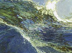 "Saatchi Art Artist Margaret Juul; Painting, ""Ebb & Flow"" #art"