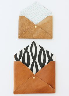 DIY Leather Clutch | Creative DIY Mother's Day Gifts Ideas | Thoughtful Homemade Gifts for Mom. Handmade Ideas from Daughter, Son, Kids, Teens | Unique, Easy, Cheap Do It Yourself Crafts To Make for Mothers Day, complete with tutorials and instructions http://thrillbites.com/diy-mothers-day-gift-ideas
