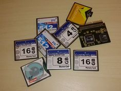 Partitioning 16 GB Compact Flash card with WinUAE and PFS3