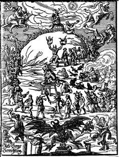 Witches' Sabbath - Johannes Praetorius: Blockes-Berges Verrichtung, Leipzig u.a. 1668