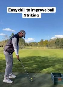 Hitting It Solid and Logen Deyong share a great drill to improve your ball-striking with your irons. Golf Books, Golf Score, Golf Practice, Golf Chipping, Best Golf Courses, Golf Instruction, Golf Putting, Golf Exercises, Golf Training