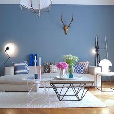 Seit Mai jetzt schon die beste Entscheidung für mich....unsere blaue Wand...