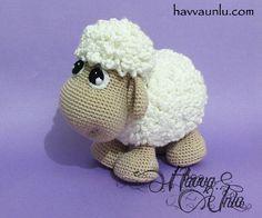 PATTERN Sheep Amigurumi Crochet por HavvaDesigns en Etsy, $6.00