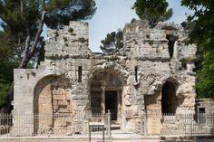 Jardin de la Fontaine - Temple de Diane - 1er siècle